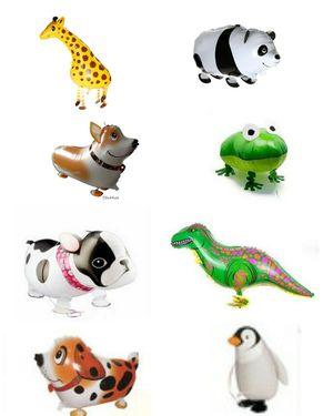 8 Types Walking Animal Balloons Cute Dog Panda Dinosaur Frog Giraffe Party Decoration for Sale in Charlotte, NC