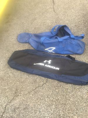 2 baseball bat bags for Sale in North Brookfield, MA