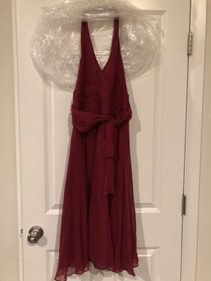 Maroon women's dress size 6 for Sale in Tacoma, WA