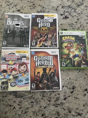 Wii and Xbox 360 Video Games for Sale in Austin, TX