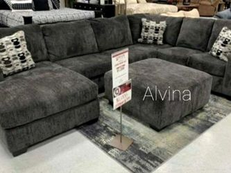 ⚡New ♦️Instock Ballinasloe Smoke RAF Sectional ♨️▶️ for Sale in Silver Spring,  MD