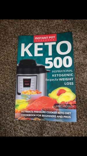 Keto recipe book for Sale in High Point, NC