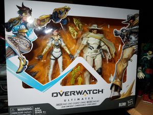 """HASBRO OVERWATCH ULTIMATES 6"""" TRACER & McCREE 2 PACK ACTION FIGURES for Sale in The Bronx, NY"""