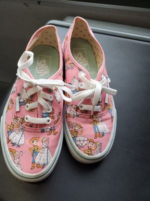 Bo peep 6.5 womens vans toy story 4 Andy buzz for Sale in Columbus, OH