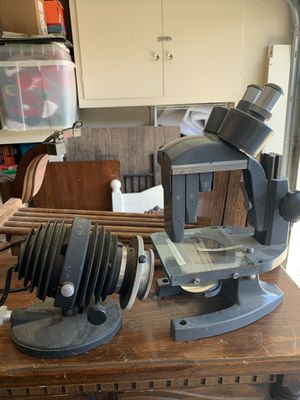 Real Mircoscope with Light for Sale in Salinas, CA