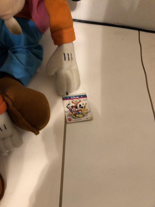 Collectible vintage plush toy Disney Steiff Ralph Lauren Minnie mouse Goofy