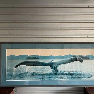 7' x 3' Whale Tail Portrait for Sale in Orlando, FL