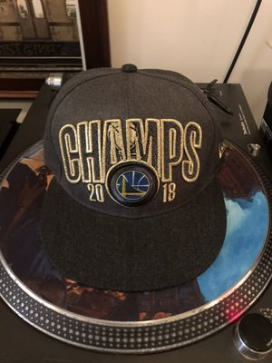 Warriors Championship hat for Sale in Oakland, CA