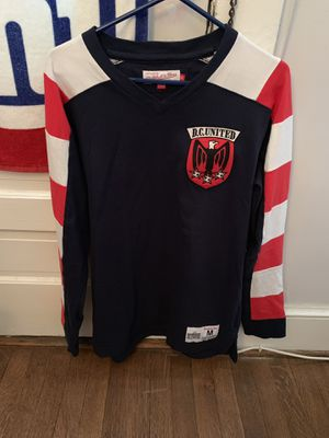 Mitchell & Ness DC United throwback jersey for Sale in Washington, DC