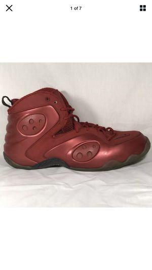 Nike Zoom Rookie Varsity Red Black Penny Foamposite 472688-601 Sz 11 for Sale in Newton, KS