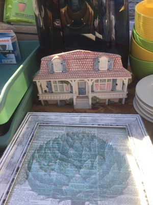 Ceramic decorative house to hang on the wall best offer for Sale in Matawan, NJ