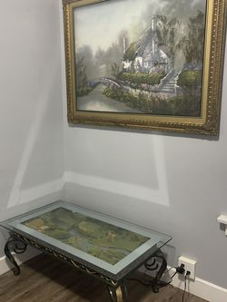 Coffee Table, 4 Side Tables & painting for Sale in St. Louis,  MO
