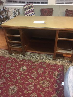 Old antique teachers desk (oak) Drawers included for Sale in Spring, TX