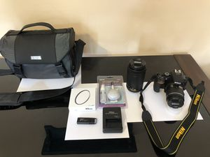 Nikon D5600 DSLR W/ two Lenses - BRAND NEW! for Sale in Phoenix, AZ