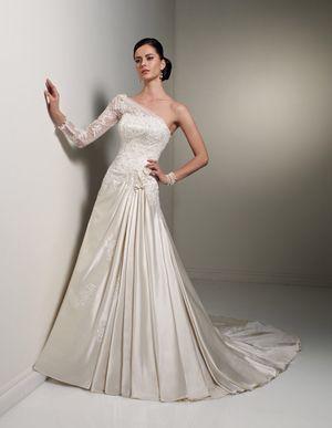 Sophia Tolli wedding dress. Fit size 8,10,12 Ivory color for Sale in Nokesville, VA