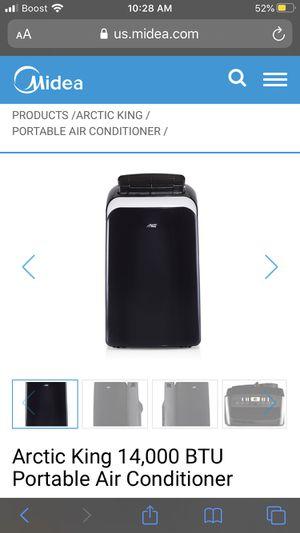 Arctic king 14,000 btu portable ac for Sale in Elizabeth, PA
