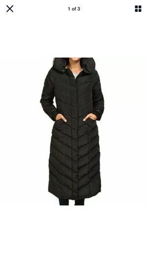 Designer- Steve Madden, Black Puffer Full Length Coat for Sale in Hermon, ME