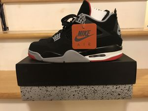 Jordan 4 Bred Sz 11 Dead Stock for Sale in West Hartford, CT