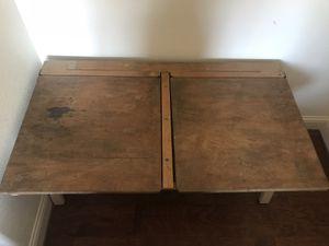 Vintage Pine School Desk for Sale in Tuscola, TX