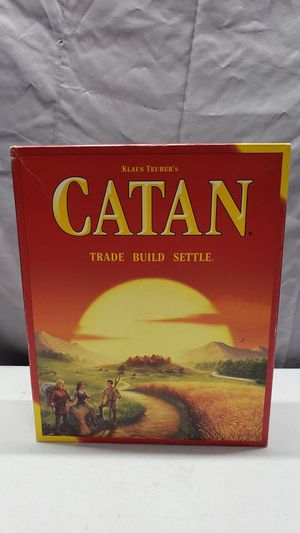 Catan Board Game, missing few pieces for Sale in Carson, CA