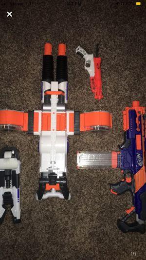 3 Nerf guns for Sale in Albuquerque, NM