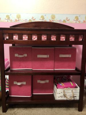 Changing table with mattress and sheet. for Sale in Orlando, FL