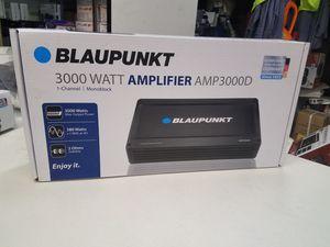 Blaupunkt 3,000 Amplifier for Sale in San Bernardino, CA