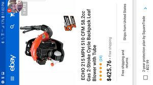 Echo leaf blower 215 mph for Sale in Columbus, OH