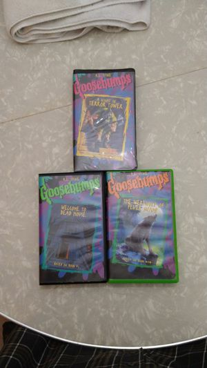 Goosebumps collectable vintage VHS for Sale in Tacoma, WA
