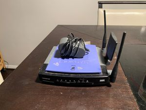 Linksys WRT300n Router for Sale in Houston, TX