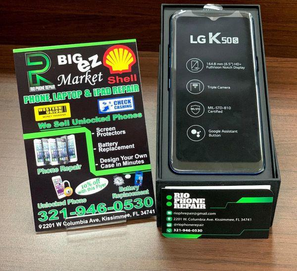LG K50S