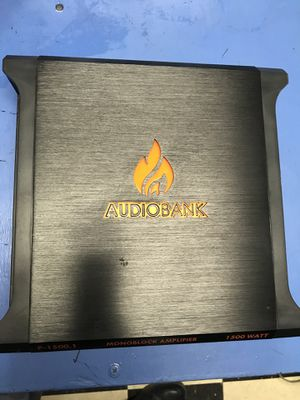 Car amplifier!!!! for Sale in West Valley City, UT