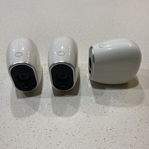 Arlo Security Camera Set - Wire-free + Mounts + Charger & Rechargeable Batteries for Sale in Los Angeles, CA