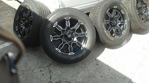 18 inch rims for Dodge...Chevy.. Trucks/Suv for Sale in TEMPLE TERR, FL