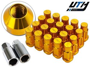 Godspeed Type4 FORGED LOCK LUG NUTS 12x1.5 w/ Key GOLD for Sale in El Monte, CA