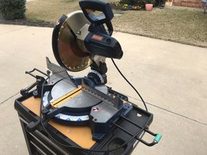 Ryobi 12 in. Compound Miter Saw TS1552LA for Sale in Mansfield, TX