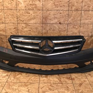 Mercedes Benz W204 2008 And 2009 And 2010 And 2011 Front Bumper for Sale in Moreno Valley, CA