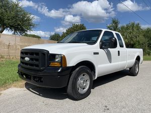 2007 ford f250 super duty extended cab 66,000 miles for Sale in St.Petersburg, FL