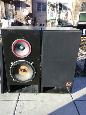 1200 Watts custom made cerwin Vegas loud speakers and subwoofer bundle for Sale in Washington, DC