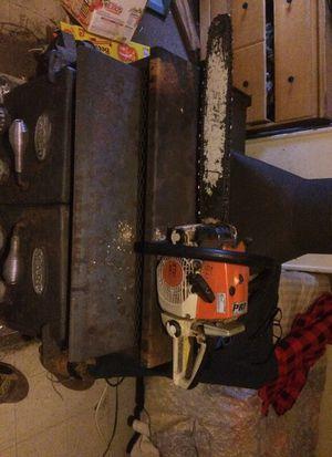 026 stihl chainsaw runs good forsale for Sale
