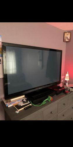 60 Panasonic Viera TC60PS34 3D SMART Plasma Tv for Sale in Graham,  WA