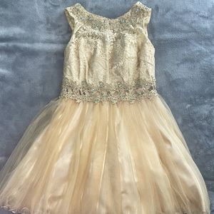 Champagne Quinceanera Dress for Sale in Spring, TX