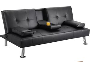 Leather Futon for Sale in Mount Healthy, OH