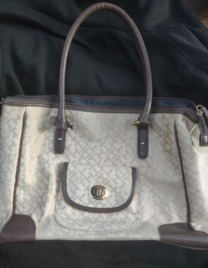 Tommy Hilfiger brown tote bag for Sale in Spokane, WA