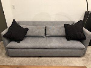 WEST ELM - LIGHTLY USED SLEEPER SOFA for Sale in Bellevue, WA