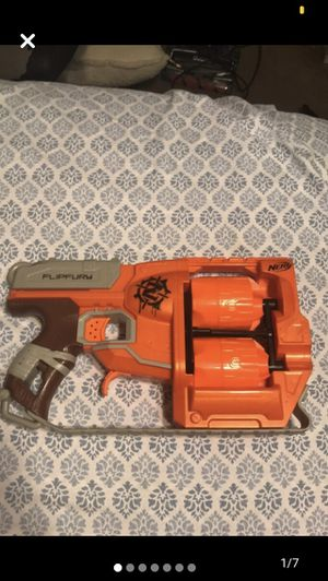Nerf zombie strike flipfury blaster for Sale in Atherton, CA