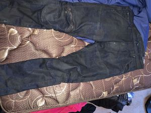 Black and blue camo gstar zip knee pants for Sale in Cleveland Heights, OH