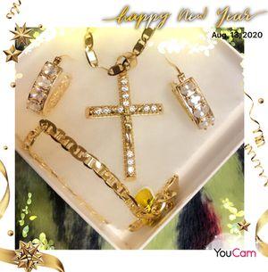 4 piece beautiful cross set for Sale in Seattle, WA