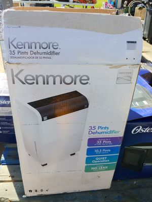 Kenmore 35 pint dehumidifier for Sale in Stoutsville, OH
