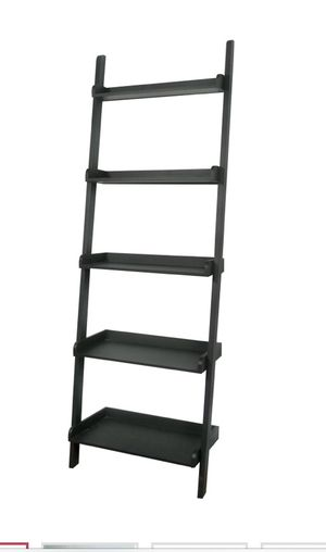 Crate and Barrel Leaning Shelf Bookcase for Sale in Baltimore, MD